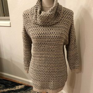 Lucky in Love Sweaters - Lucky Brand Sweater with flecks of Gold